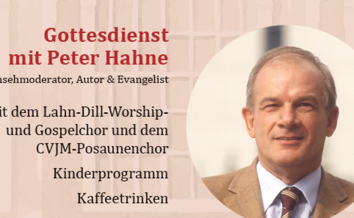 Gottesdienst mit Peter Hahne